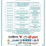Energetikai Szakkollégium programterve 2012/2013-as tanév tavaszi félévre