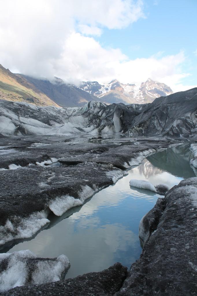 Európa legnagyobb gleccserén