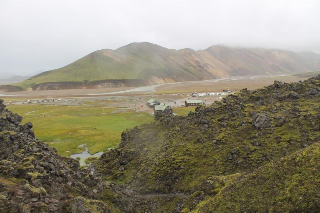 Az úticél, Landmannalaugar
