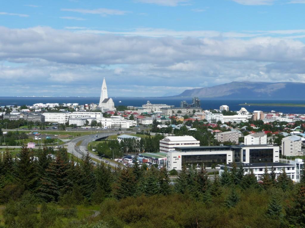 Reykjavík madártávlatból