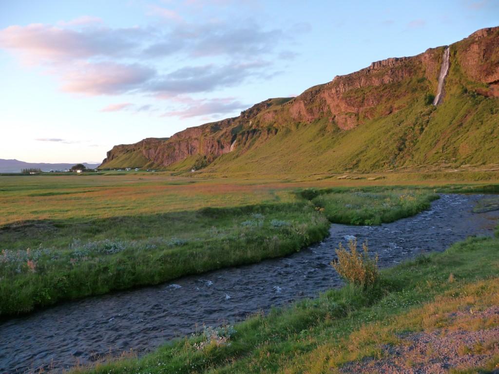 Az Eyjafjallajökull sziklái