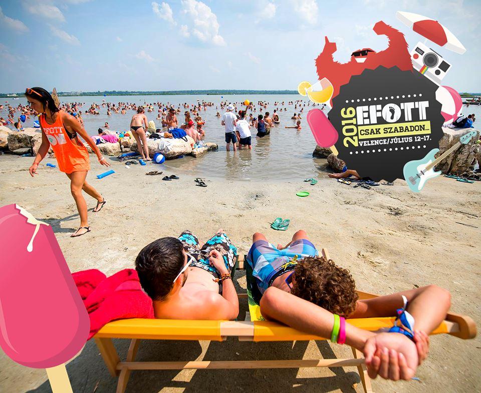 Haverok, buli, strand - igazi nyári kikapcsolódást kínál az EFOTT
